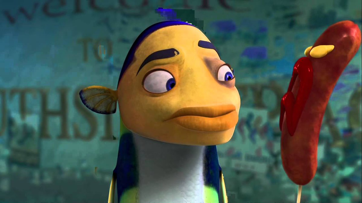@daveeustace22 sure but in Finding Nemo they don't have actual hairy eyebrows, they just gave them a more exaggerated brow bone. Shark Tale did full-on human eyebrows and we all know how that went https://t.co/z0SsUnCZuB