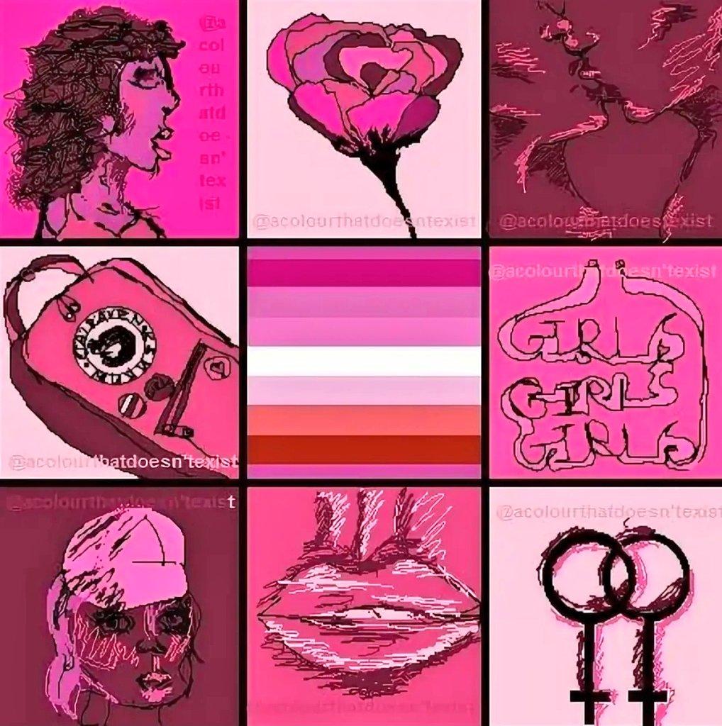 Lgbt moodboards flowers grunge lesbian moodboard