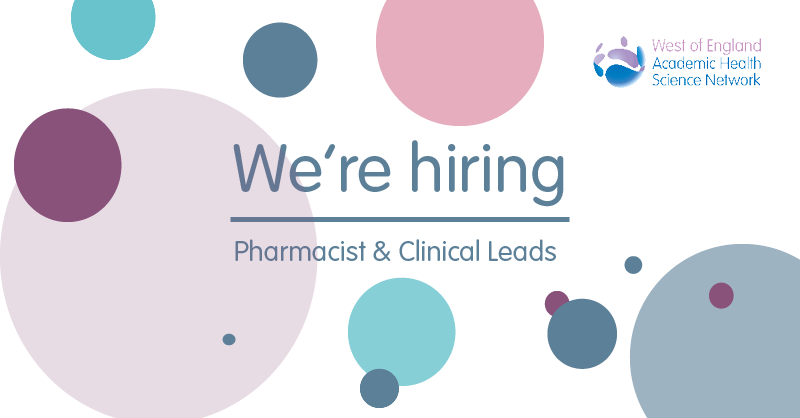 Time's running out to apply for our Clinical & Pharmacist Lead posts! Deadline for applications is Friday 30 October.  If you're a senior clinician or pharmacist interested in improving patient safety & adoption of innovation,  we want to hear from you!   https://t.co/8p7VK1W6Gb https://t.co/OMfyla0htM