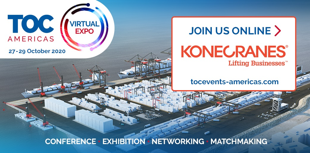 JUST 1 WEEK TO GO! We are participating in the virtual #TOCAmericas exhibition  on  27 - 29 October 2020. Our Lift Trucks Sales Director John Elisson will also be speaking at #TECHTOC Green Port Tech & Operations session on Wednesday. https://t.co/1mks2663Ts @KCLiftTrucks https://t.co/St4VXRB2NH