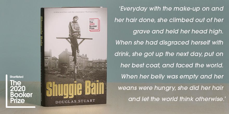 Shortlisted author @Doug_D_Stuart reveals his favourite quote from his #2020Bookerprize book, Shuggie Bain. @picadorbooks @panmacmillan #FinestFiction #shortlist #DouglasStuart #ShuggieBain #quote
