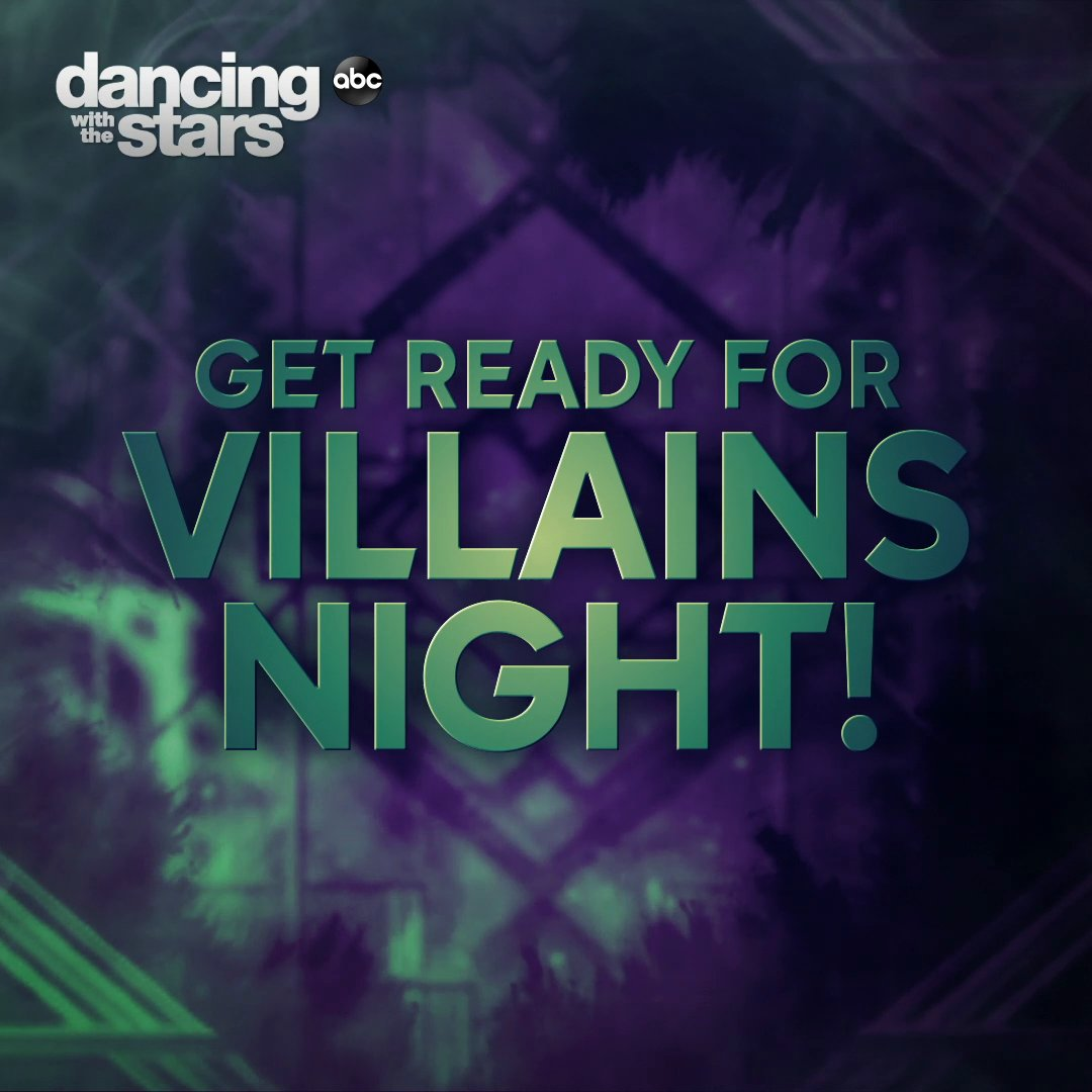 The villains are coming out... 😈 Get ready for #VillainsNight this Monday on #DWTS 😱