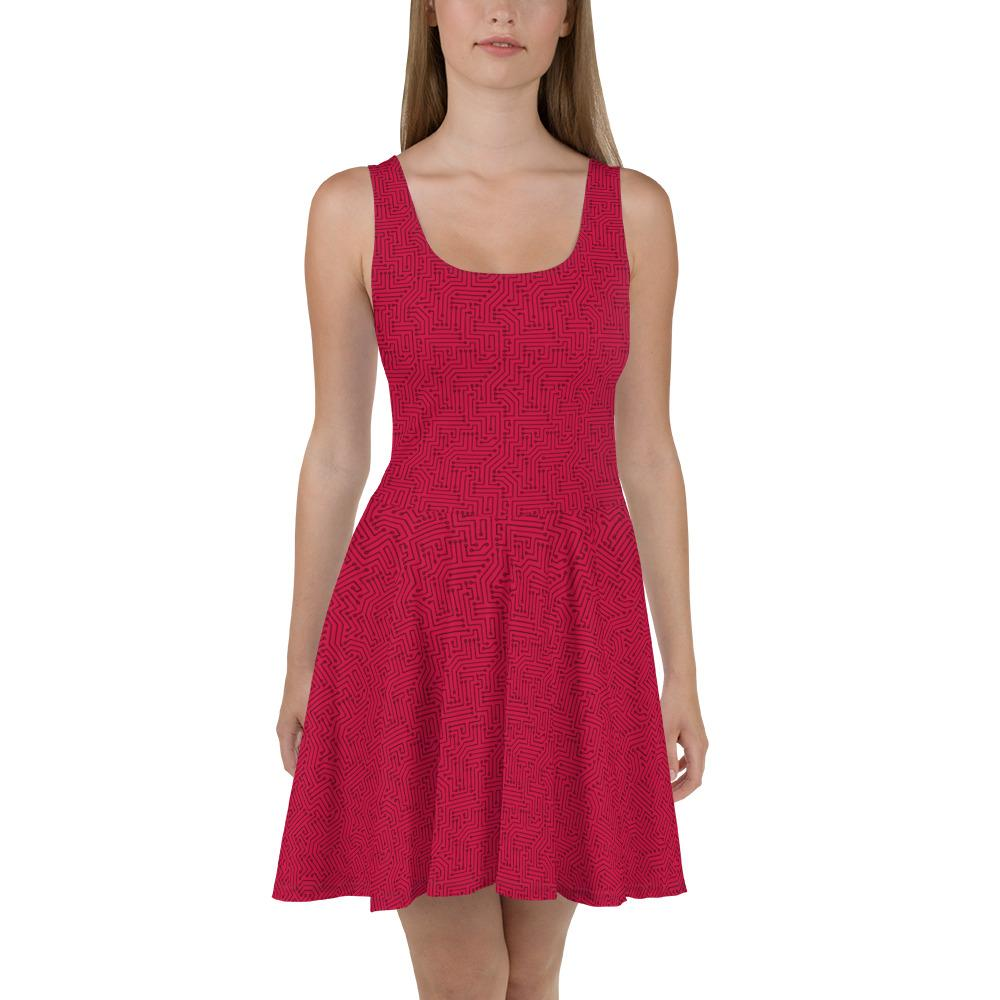 😍Check this out from #AmericanBogan 😍 » American Bogan Red With Texture Print Skater Dress » $49.00! #Buy it now 👉 https://t.co/EC9INDILlE  #SmallBiz #DailyPost #Fashion https://t.co/OnjRUV3lYd