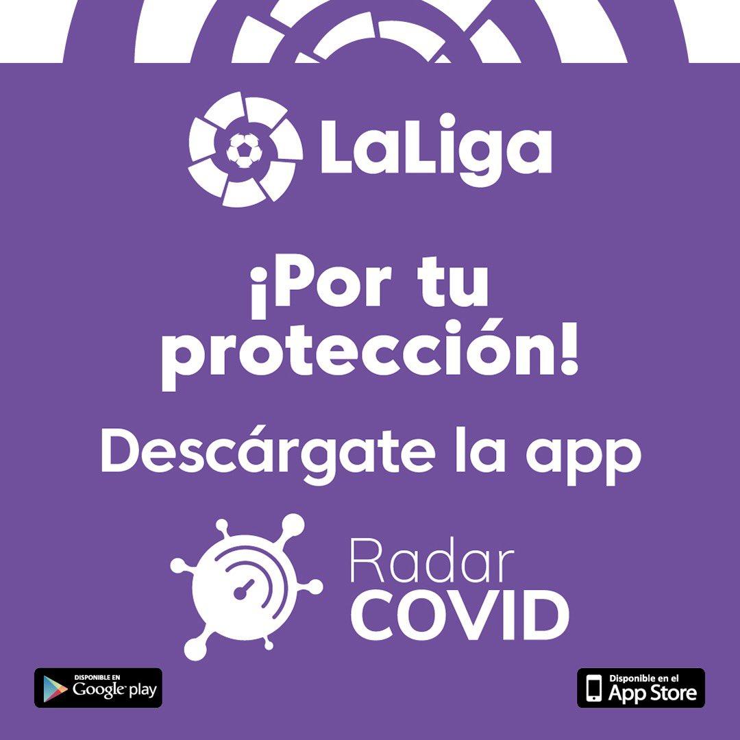 Babestu zaitez eta babestu zureak!! Protégete contra el #COVID-19 usando la App #RadarCOVID!!