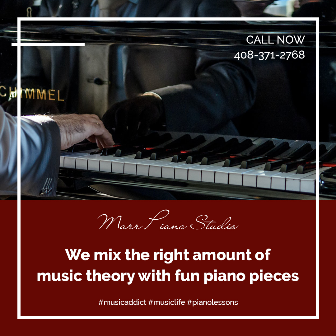 We mix the right amount of music theory with fun piano pieces to make your experience enjoyable! Visit us at  https://t.co/NWSc6K6Yad!  #musicaddict #musiclife #pianolessons #pianoplayer #pianosolo #pianostudent #musicteachers #musiclessonsforkids #pianopractice #lovepianomusic https://t.co/4kTX1TFza6