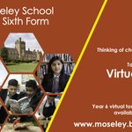 Image for the Tweet beginning: Thinking of choosing @MoseleySchool for