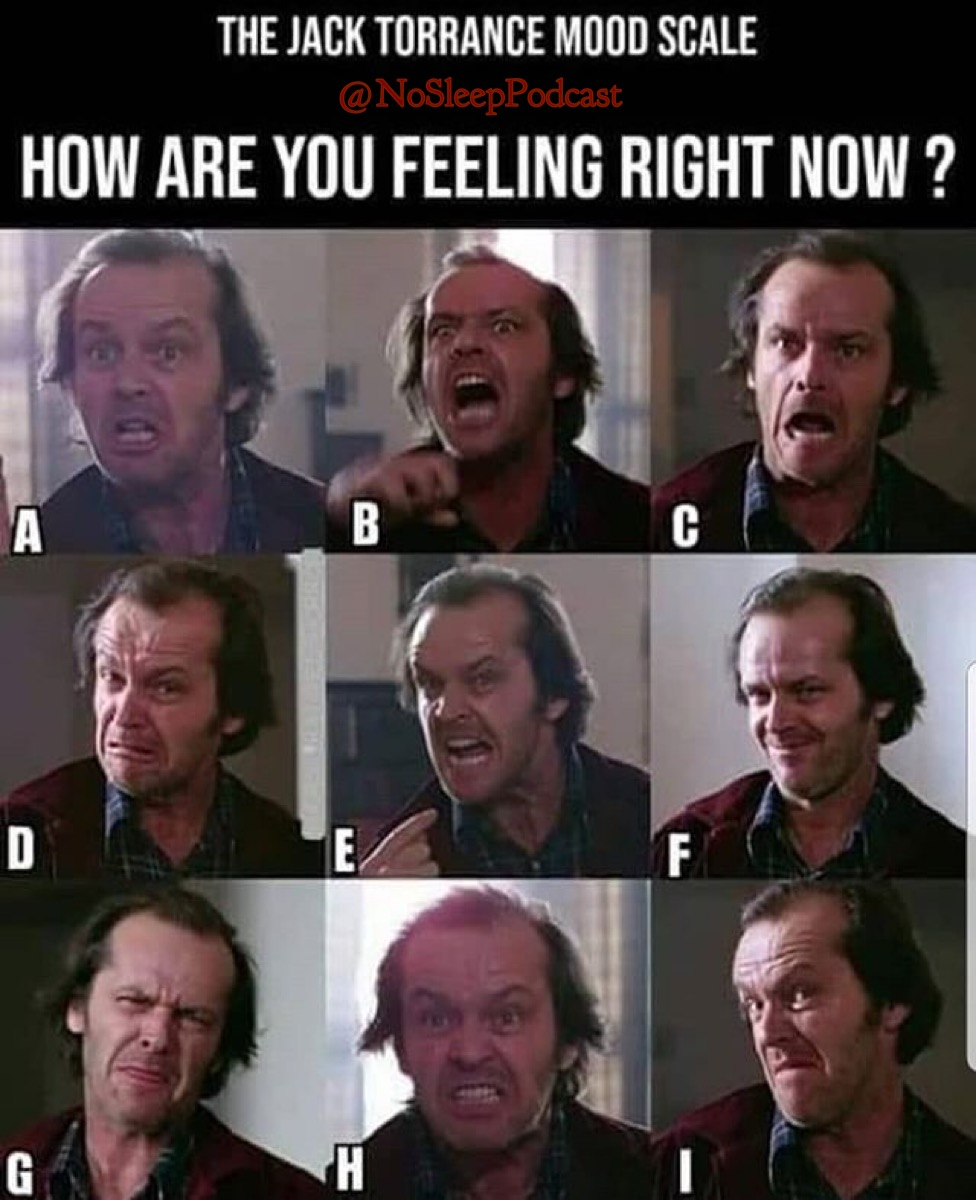 How's everyone doing this morning? We've made it to #FreakyFriday and you know what that means? A brand new episode drops tomorrow morning for #seasonpassholders   What Jack Torrance are you this morning?   https://t.co/imzcltgont  #31DaysOfHorror #31daysofHalloween #spooky