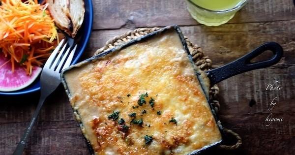 ルー不要!鍋1つで作るアツアツ濃厚美味な「グラタン 」バリエ5選