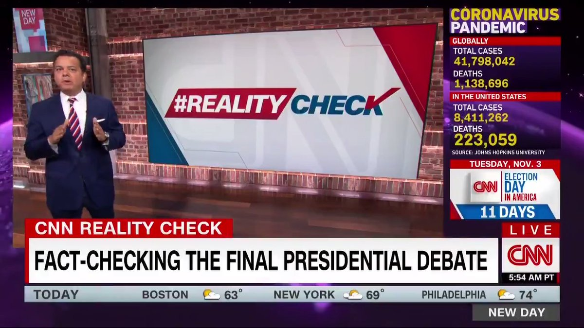 Last night's presidential debate gave @JohnAvlon a lot to fact check. Here's the truth on health care, the trade war, immigration, fracking and race issues. cnn.it/2J02lv9 #RealityCheck