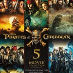 Image for the Tweet beginning: Pirates of the Caribbean 1-5