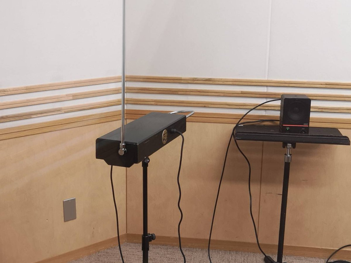 スタジオにお持ちいただいたテルミン#joqr #unozero #井口裕香 #東京ホテイソン