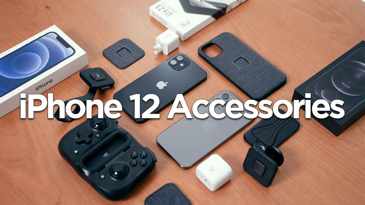 NEW VIDEO!!!  The BEST iPhone 12 Accessories >>>>https://t.co/MrdLQtorkS Enjoy😃  #iPhone12 #iPhone12Pro https://t.co/yCX1FUxZvN