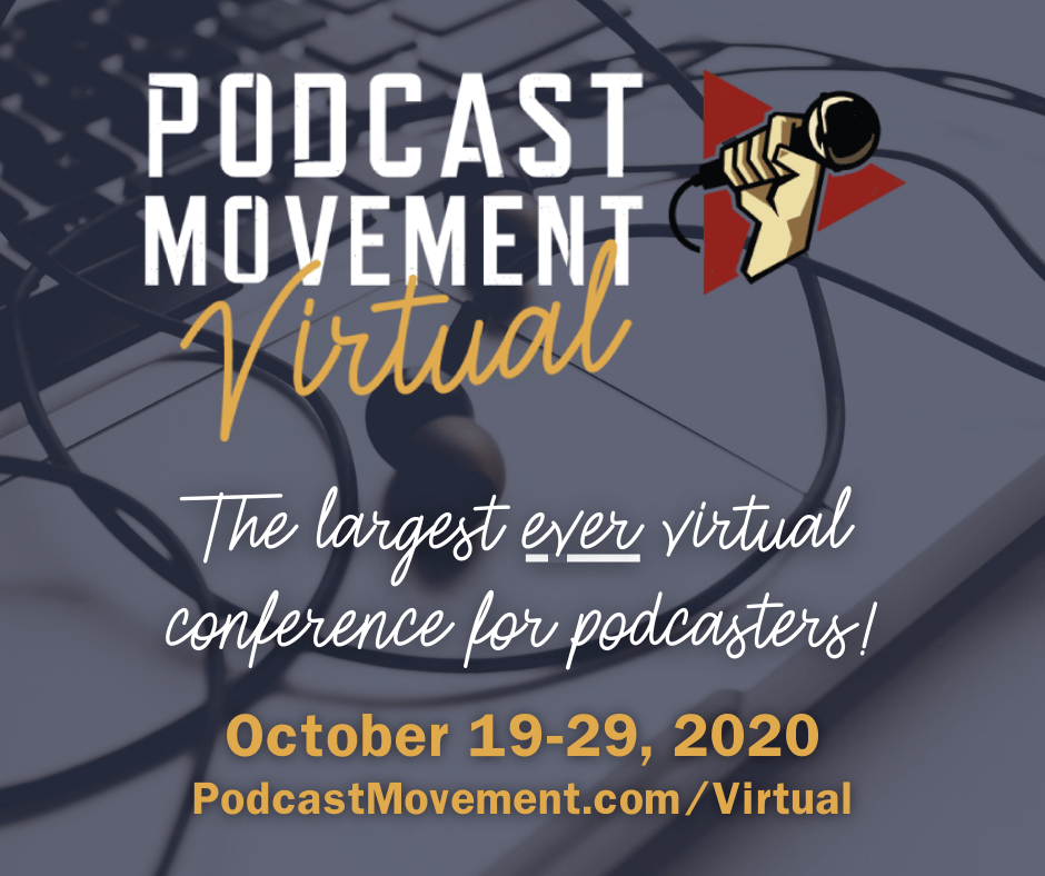 Don't forget to check out our virtual booth for #PMVirtual! Feel free to stop by, say hi, and chat with our team!  #podcast #podcaster #podcasting #podcasts #podcasters #PodcastMovement   https://t.co/1RUSmkuh3s https://t.co/bpAA74AvNx