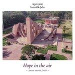 Image for the Tweet beginning: Delhi's Jantar Mantar has 13