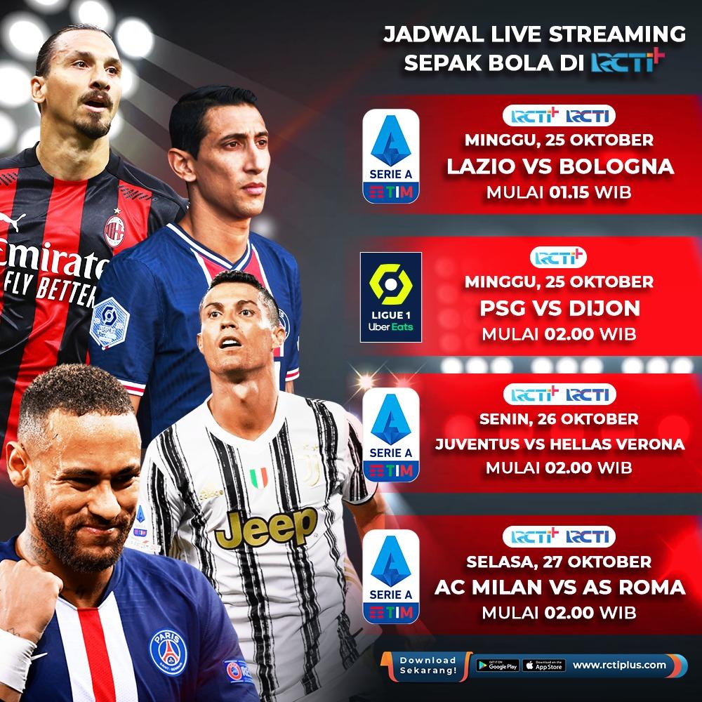 RT @footballisme: Jadwal Siaran Live Streaming #SerieA Lega Serie A & #Ligue1 Ligue 1 Pekan Ini di RCTI+ #SerieATIM #Ligue1UberEats - Prediksi: 👉 https://t.co/gqGMVuvn4l https://t.co/gmXjw845NS via @RCTIPlus @OfficialRCTI @RCTISports_