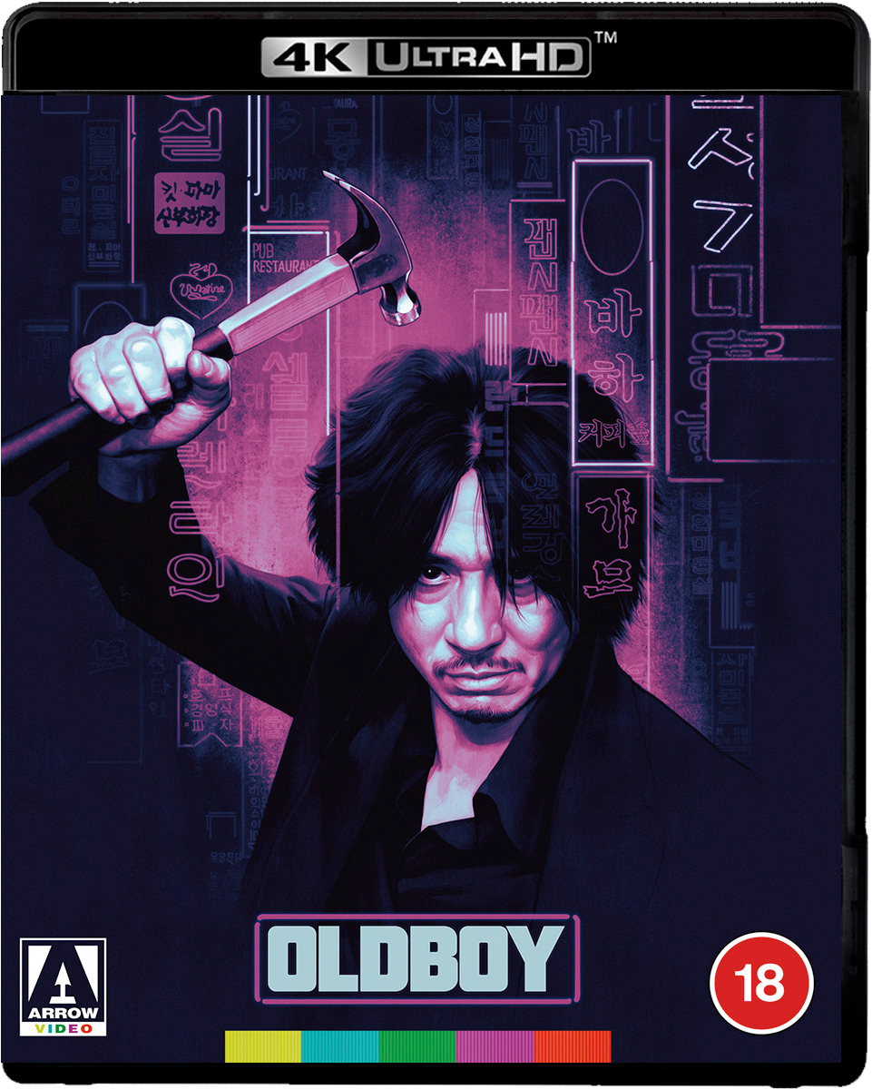 NEW UK TITLE: Oldboy (4K UHD Blu-ray) bit.ly/2Hvak2G
