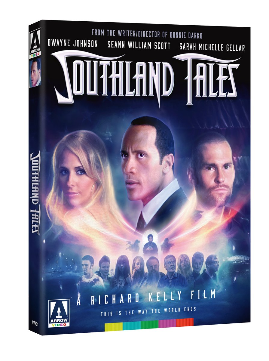 NEW UK/US/CA TITLE: Southland Tales (Limited Edition Blu-ray) bit.ly/31ydREi