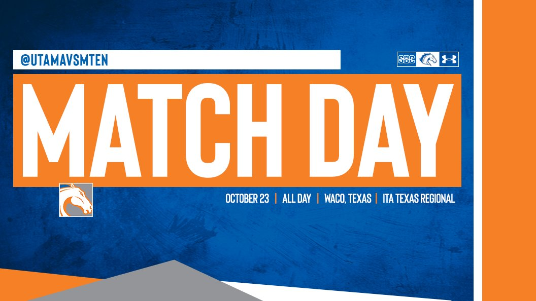 IT'S MATCH DAY!!!  The guys compete in the ITA Texas Regional this weekend!  📍 » Waco, Texas  🏟 » Waco Regional Tennis Center 📊 » https://t.co/Fgsr5iEmBs https://t.co/Ck6OzM82n3