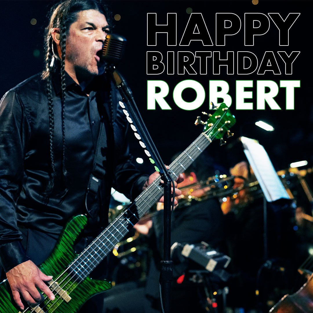 HAPPY BIRTHDAY, ROBERT! 🎉🎂🤘