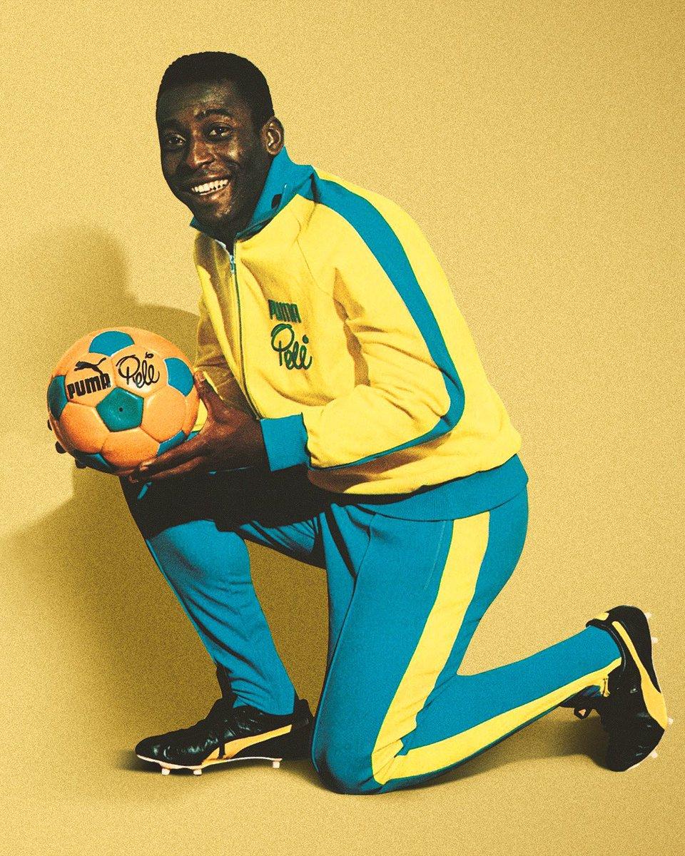 Ninguém se compara a ti 👑 Obrigado por tudo que fez pelo futebol ... Vida longa ao REI 👑  Happy birthday King @Pele