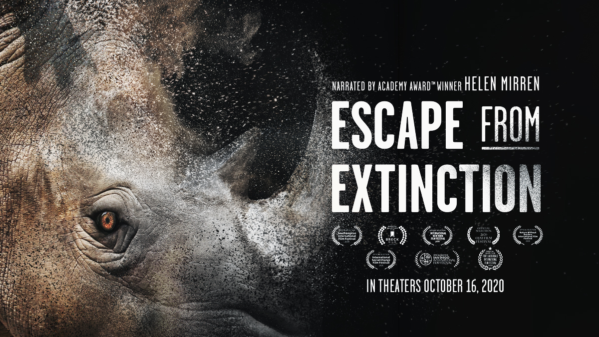 I'm heading to a theater Sunday to watch #EscapeFromExtinction!  Check your local theater for times, and help us save animals! https://t.co/2qlNsV8B4l