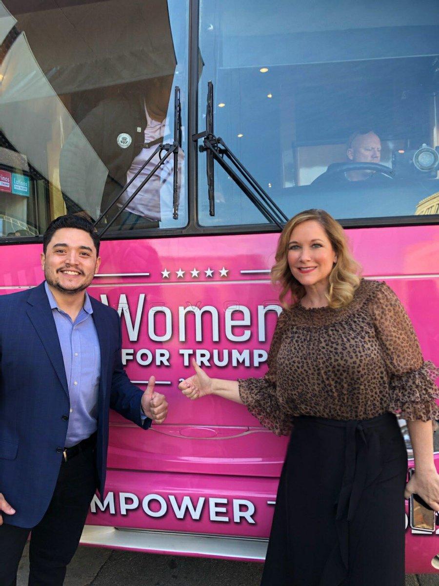 The energy was 🔥 in Milwaukee with #LatinosForTrump! Wisconsin knows we need #FourMoreYears of @realDonaldTrump!