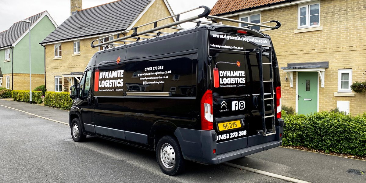 Great to share in the excitement of a start up business by creating the branded vinyls for the first van at Dynamite Logistics 🧨 #signwrite #signwriter #vanlivery #livery #vangraphics #graphics #signs #signage #graphicdesign #graphicdesigner #print #vinyl #vinyls #vehiclelivery https://t.co/YccrCNLntT