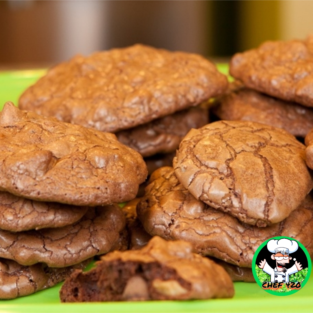 I love these Brownie Cookies they are so easy and no problem to take some with you, just drop em in a baggie for lunch. By CHEF 420!!  https://t.co/i9YzvOGQNK  #Chef420 #Edibles #Medibles#CannabisChef #CannabisRecipes #InfusedRecipes  #Happy420 #420day #420blazeit https://t.co/Yn7W2ms2fr
