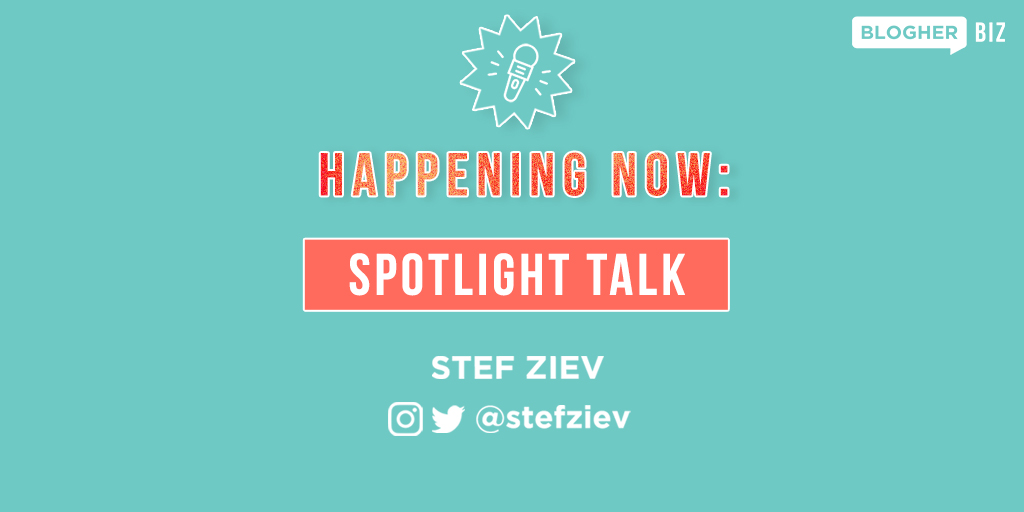 Take a moment at #BlogHer Biz to reflect on how our inner monologue and emotions play a part in our lives and careers. @StefZiev is sharing how to change your narrative with a simple tool so you can consciously choose to create the life of your dreams. https://t.co/Vd6UFD3JLQ https://t.co/POaYZSvPVX