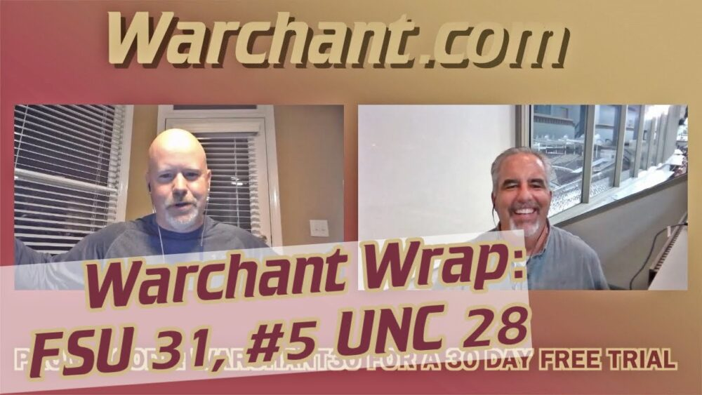 FSU Football analysis after upset win over North Carolina: Warchant Wrap https://t.co/I6eXfjMYTD https://t.co/Zk2M7d328E
