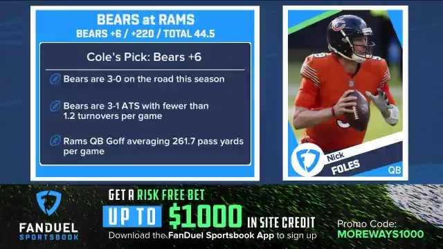 Can the #Bears get the win over the #Rams on Monday Night Football? 🤔  @ColeWright joined @LisaKerney to discuss why he's going with Chicago ⬇️ https://t.co/CcG7mrFanc