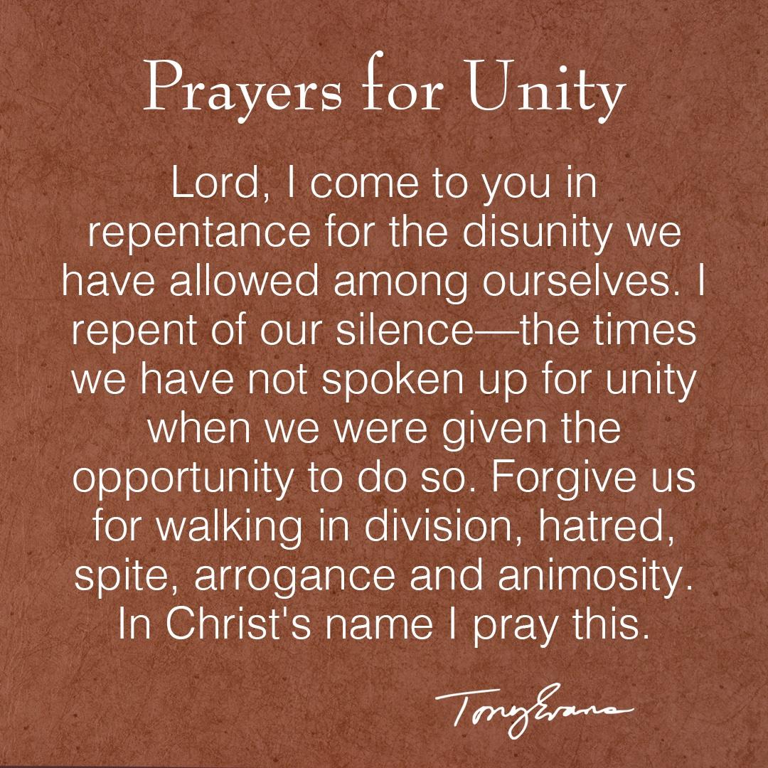 Take a moment to pray for #unity https://t.co/vEJoR0zTgK