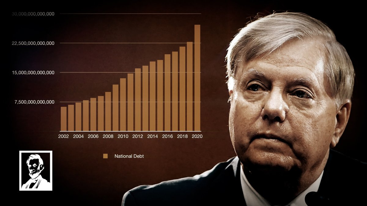 What happened to Lindsay Graham? He said he was a fiscal conservative, but he's one of the biggest spenders in congress.