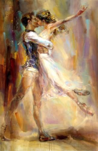 #Arte #Danza #Ballet #Foreverdance Anna Razumovskaya 🎨👨🎨 Love Story ... 🧡💛 https://t.co/EXPy0SSzfV
