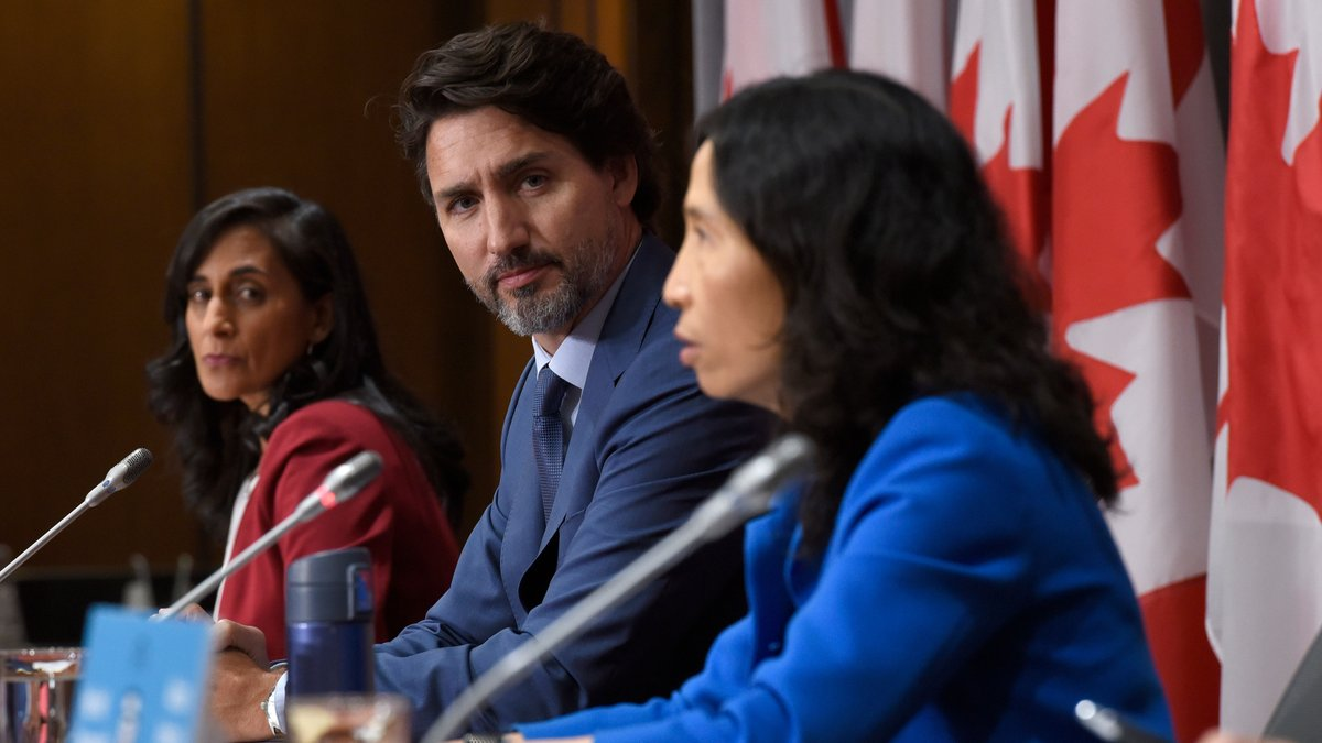 WATCH LIVE: Prime Minister Justin Trudeau and federal health officials make an announcement on COVID-19: https://t.co/L97X3Z9xt5 https://t.co/K0JrJzaoaq