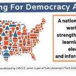 Image for the Tweet beginning: We're excited to join #TeachingforDemocracy