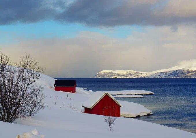 詩を書きました。「ノルウェーの大地で」