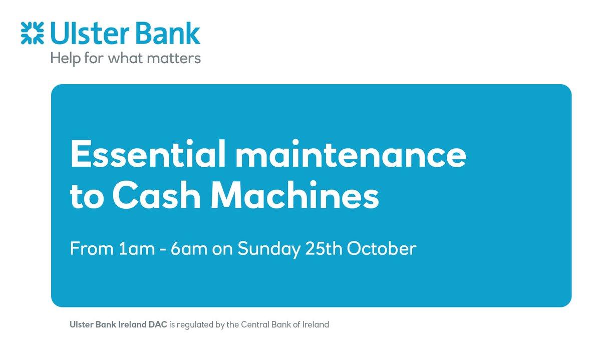 Ulster Bank Help Ulsterbank Help Twitter
