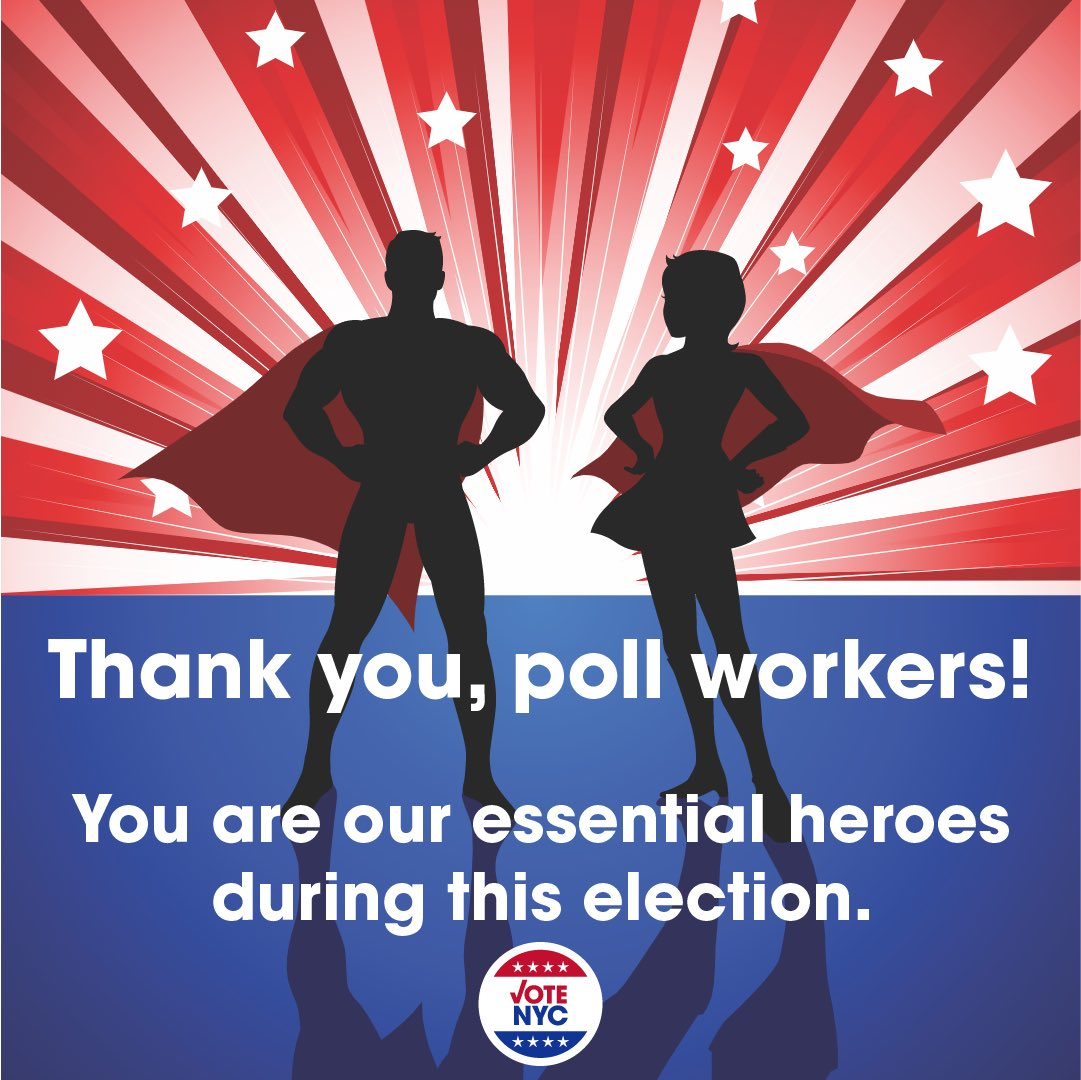 Early voting starts tomorrow at 10am! Visit https://t.co/IluDLXIcUE to find your site. Don't forget to thank your pollworker...the essential worker! https://t.co/HjIAShf9ry