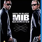 Image for the Tweet beginning: Men in Black Trilogy Blu-ray