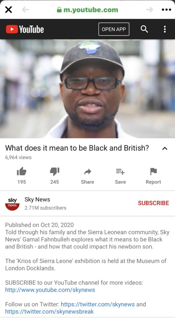 @Black_Supahero .... I have you seen this documentary on Sky News YouTube channel. I just watched it and am  happy to see that you are very energetic in pushing forward our culture, Sierra Leone will always be grateful and proud of you. #SaloneTwitter #freetown https://t.co/jEgE7Ht0OC