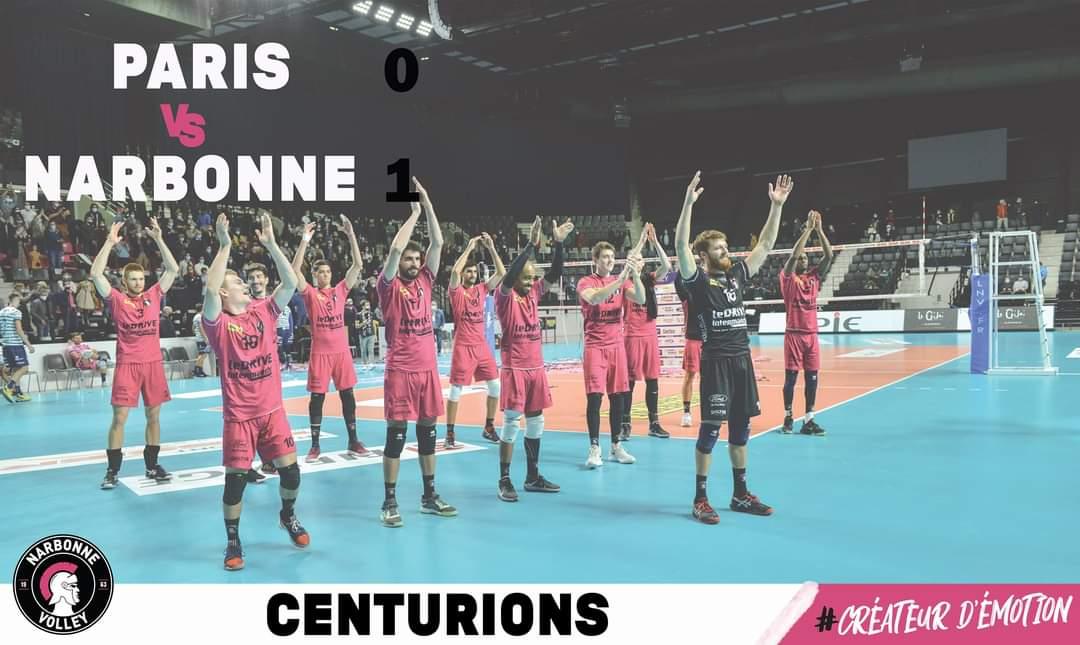 [CENTURIONS] #LiveScore🏐😍  Les Centurions viennent de remporter le premier set...