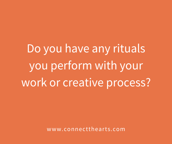 Friday's Question of the Week! - https://t.co/95qk0oRng2 #art #artrepreneur #artslove #rituals #creativeprocess #performers #visualarts #writing #dance #theatre #scultpure #inspiration #artists #artistsunite #hirelocalartists #ctaqotw #connectthearts https://t.co/HK47TCfeD4