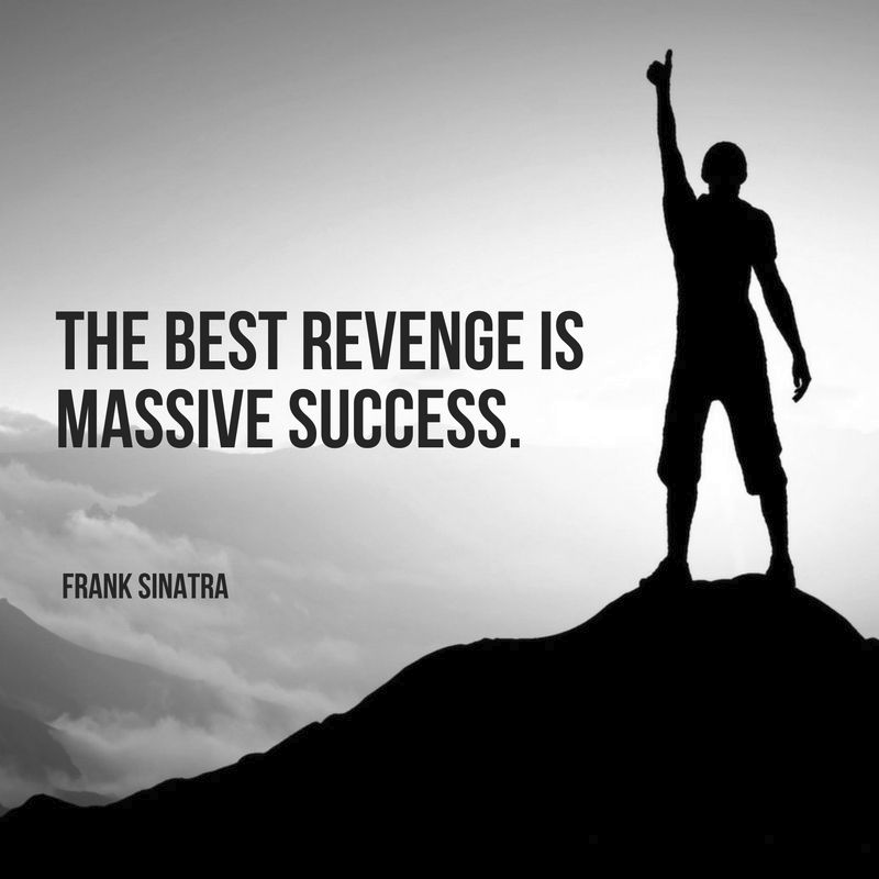 #Revenge???!!!: The *BEST* Revenge....Is Massive Success and Proving Them Wrong.  #Success #MASSIVESuccess #Blessed #Mindset #FridayMotivation #FridayThoughts #BelieveInYourself #RealTalkSandy #SuccessStory #BelieveInYou #Successful https://t.co/2tbVyuQYvF