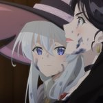 Image for the Tweet beginning: Majo no Tabitabi - 04