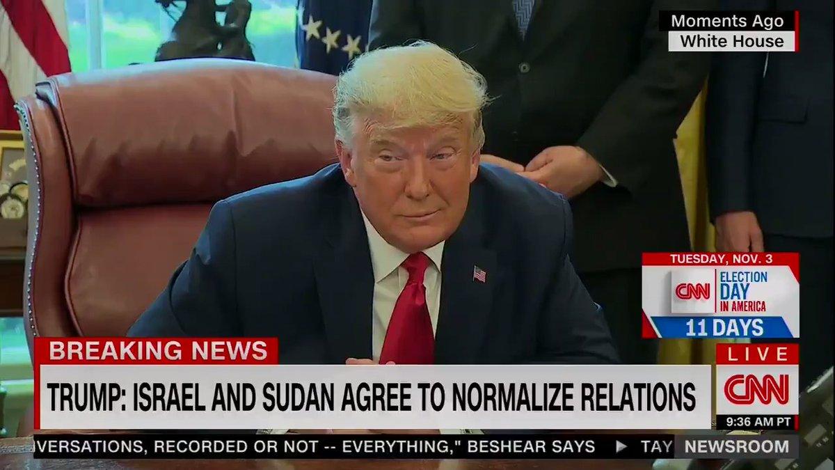 Trump krijgt hier niet het antwoord van Netanyahu waar hij op hoopte #Amerika