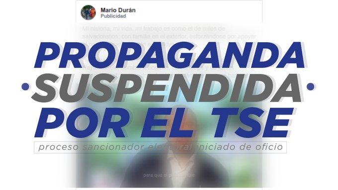 Inicia proceso sancionatorio contra Mario Durán por campaña adelantada