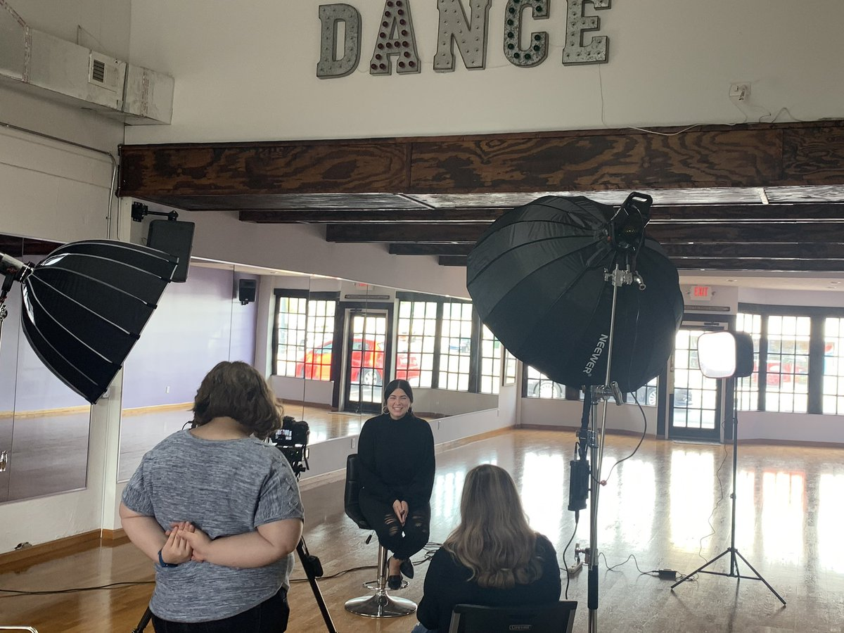 """Today, our Dancers for 2020 Dancing with the Terre Haute Stars experienced the """"hot-seat""""...Interviews!  👏🏻👏🏻👏🏻 You can support them by voting/donating to your favorite Dancer!  Click this link to check out this year's STARS!  https://t.co/d8zjxz4huU  #hautestars https://t.co/Y0fO3nIqb7"""