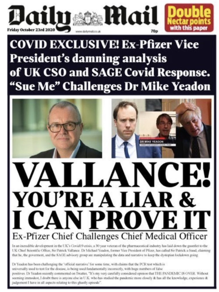 Gauntlet thrown down..  #skypapers #coronavirus #COVID19 #PandemicIsOverUK https://t.co/btCOyvJu3n