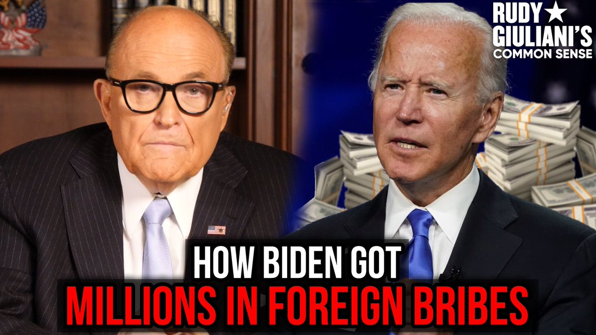 UNCOVERED: How Joe Biden Got Millions In Foreign Bribes!  I can't talk about this on mainstream television.   Watch now: https://t.co/iQ5BmMztHo https://t.co/uHLFDY4UVX